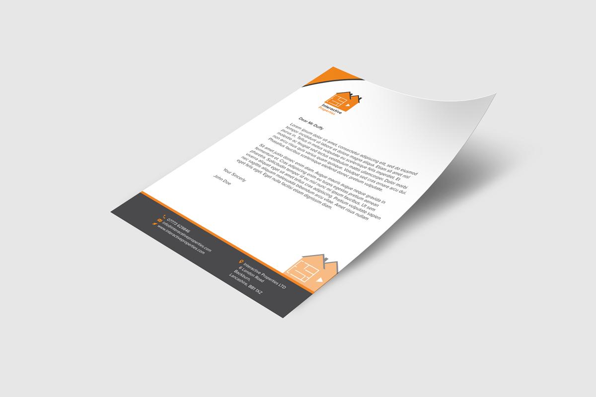 letterhead interactive properties