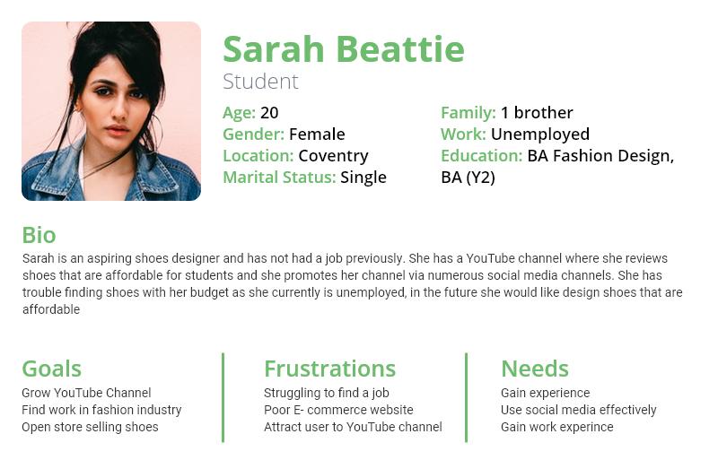 Sarah Beattie Persona